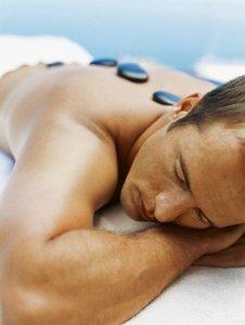 Hot-Stone Massage (25 min)